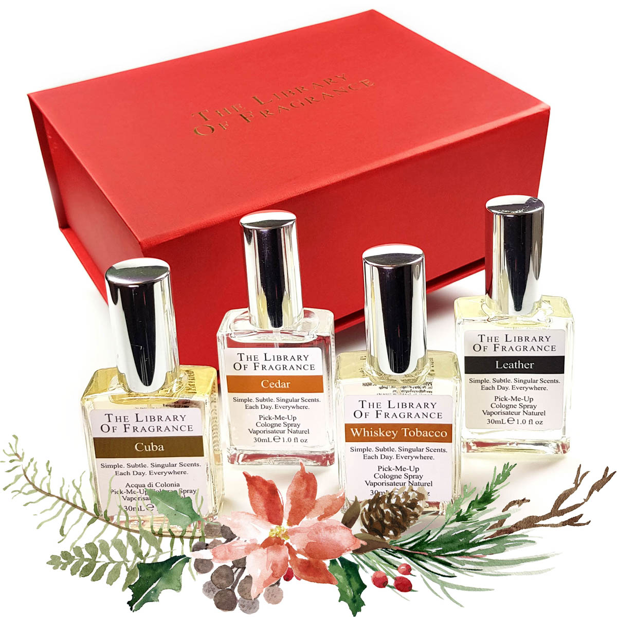 Christmas For Him Gift Set The Library Of Fragrance